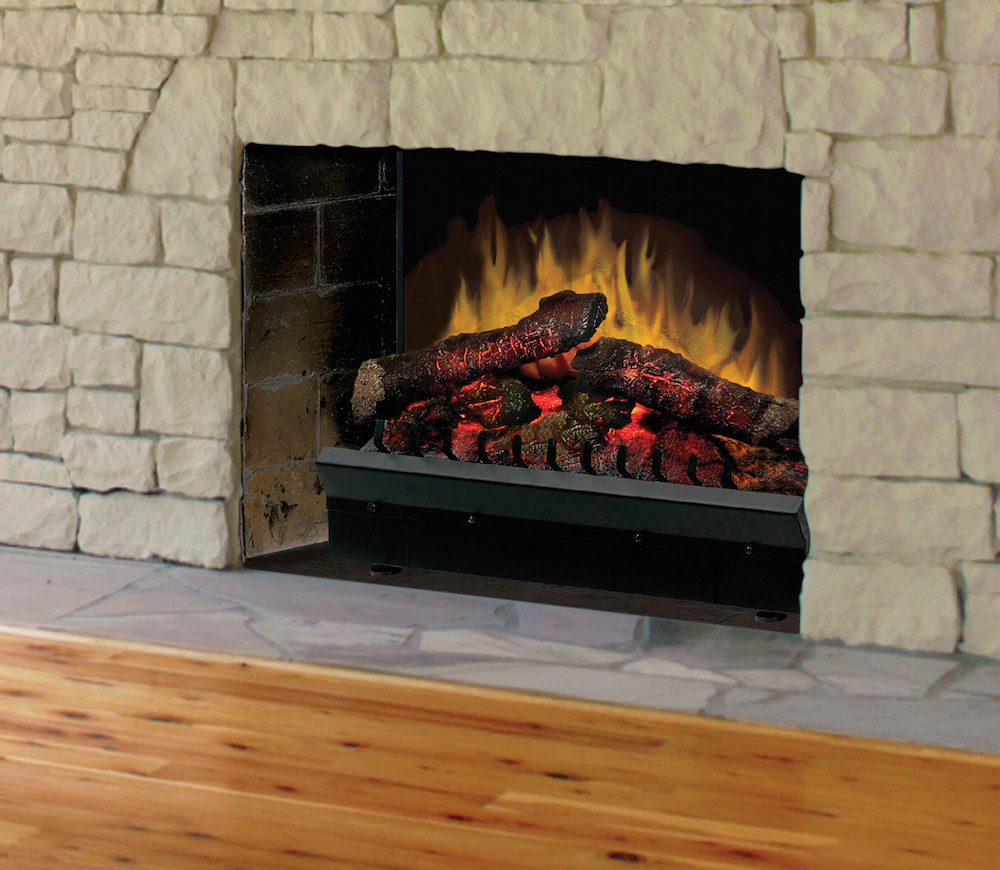 Dimplex 23 deluxe quality fireplace bbq for Fireplace and bbq