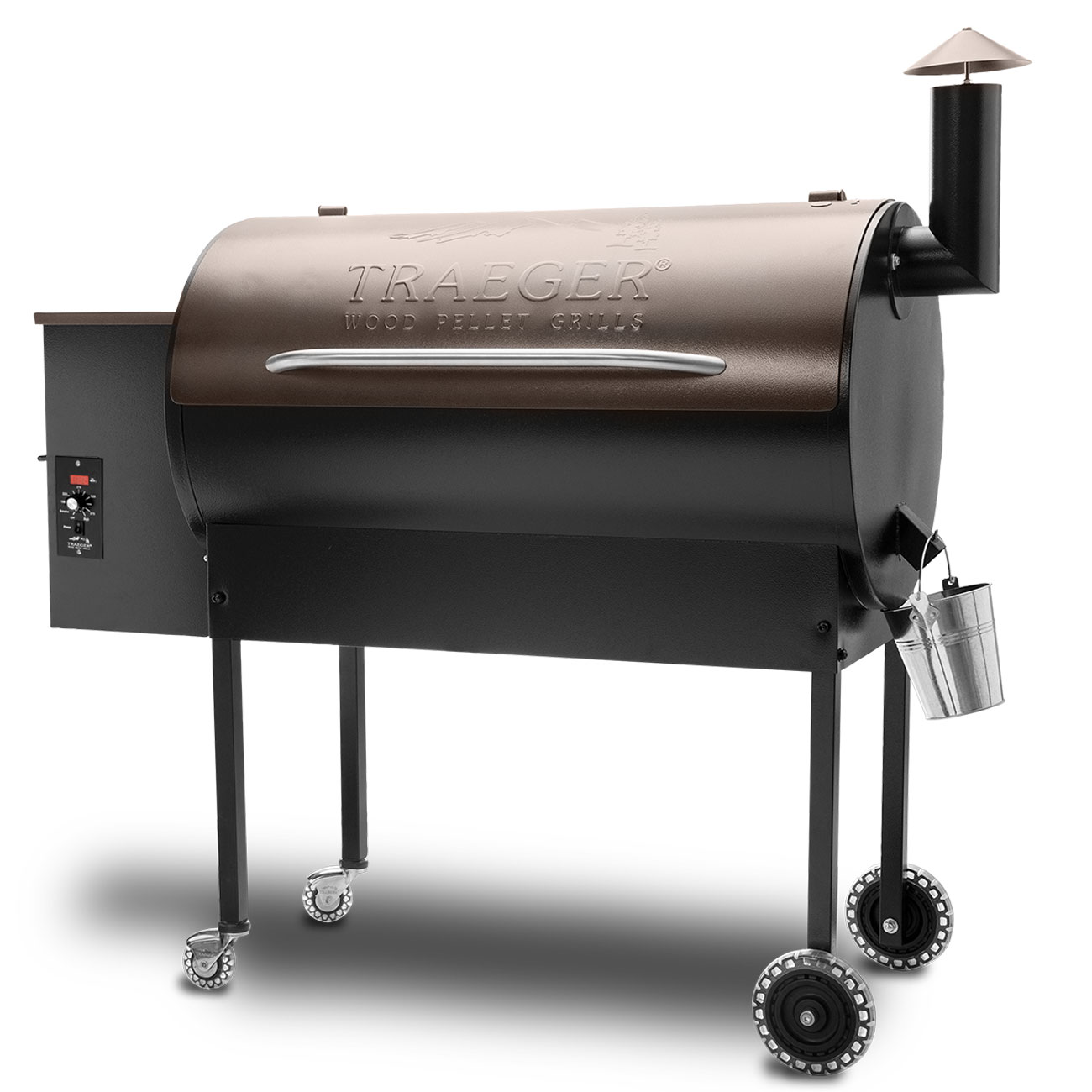 Traeger texas elite pellet grill quality fireplace bbq for Traeger smoker