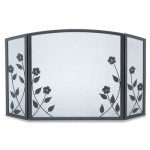 Forged Floral Tri Panel