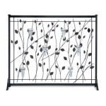 Meshless Leaf and Tea Candle Sconce Screen